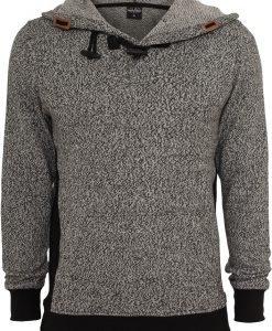 Hanorac Melange tricot negru-gri Urban Classics - Hanorace urban - Urban Classics>Barbati>Hanorace urban