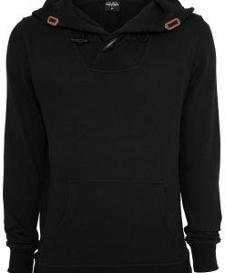 Hanorac Melange tricot negru-negru Urban Classics - Hanorace urban - Urban Classics>Barbati>Hanorace urban