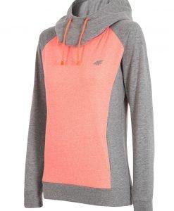 Hanorac sport de dama 4f Double Orange - Haine si accesorii - Hanorace jachete