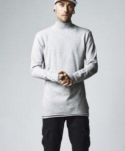 Helanca urban simpla gri Urban Classics - Bluze cu guler rotund - Urban Classics>Barbati>Bluze cu guler rotund