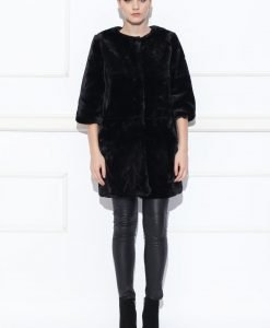Jacheta din blana sintetica Negru - Imbracaminte - Imbracaminte / Haine de blana