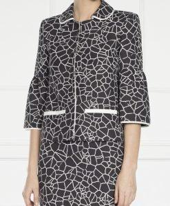 Jacheta din tesatura naturala cu imprimeu Print - Imbracaminte - Imbracaminte / Jachete si cardigane / Jachete