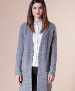 Jacheta gri din tricot 4718 - Cardigane -