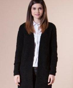 Jacheta neagra din tricot 4718 - Cardigane -