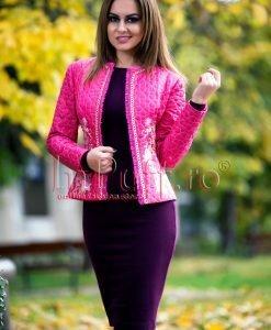 Jacheta roz - PALTOANE si GECI -