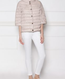 Jeans slim casual Alb - Imbracaminte - Imbracaminte / Pantaloni