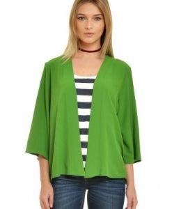 Kimono lejer verde V20 - Jachete -