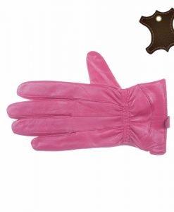 Manusi dama piele naturala SP002 roz - Promotii - Lichidare Stoc