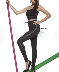 Mid-Colant modelator Angelica cu efect Push-Up - Lenjerie pentru femei - Colanti
