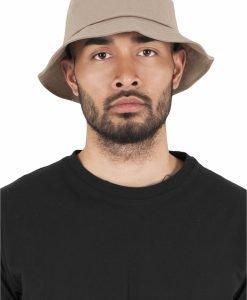 Palarie vara bumbac Flexfit Twill Bucket Hat barbati kaki - Palarii Bucket - Flexfit>Palarii Bucket