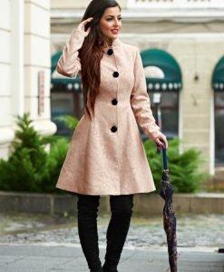 Palton Artista Elegant Concept Cream - Paltoane -
