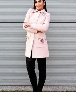 Palton LaDonna Fabulous Winter Rosa - Paltoane -