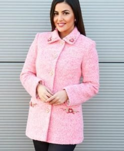 Palton LaDonna Lovely Day Pink - Paltoane -