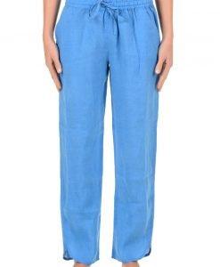 Pantalon dama Sherie Blue din colectia Iconique din in - Promotii - Promotiile saptamanii