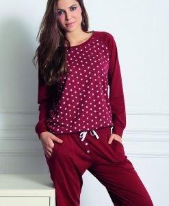 Pantalon de casa Fashion din modal - Lenjerie pentru femei - Haine de casa