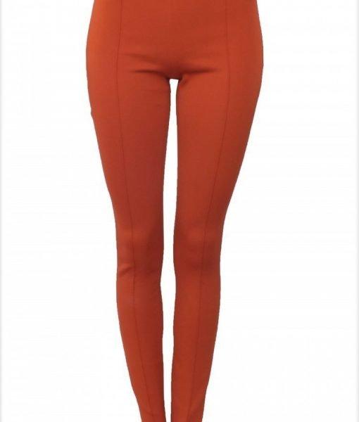 Pantalon din tesatura tip neopren Maro – Imbracaminte – Imbracaminte / Pantaloni