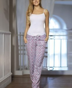 Pantalon pijama de dama Dots - Lenjerie pentru femei - Pijamale dama