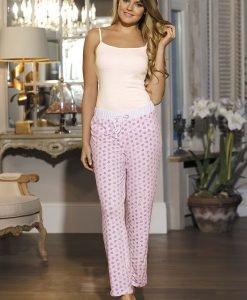 Pantalon pijama de dama Hearts - Lenjerie pentru femei - Pijamale dama