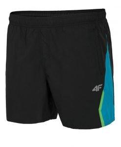 Pantalon scurt sport barbatesc 4F Black - Haine si accesorii - Pantaloni pantaloni scurti