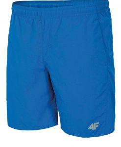 Pantalon scurt sport barbatesc 4F Blue - Haine si accesorii - Pantaloni pantaloni scurti