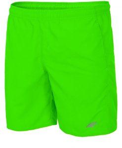 Pantalon scurt sport barbatesc 4F Green - Haine si accesorii - Pantaloni pantaloni scurti