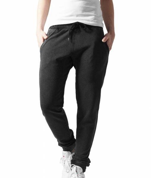Pantalon sport dama acid wash – Pantaloni trening – Urban Classics>Femei>Pantaloni trening