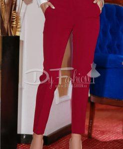 Pantaloni Bordo Sensation - Haine - Blugi/Pantaloni