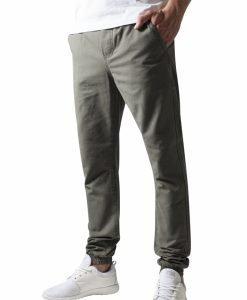 Pantaloni casual sport oliv Urban Classics - Pantaloni urban - Urban Classics>Barbati>Pantaloni urban
