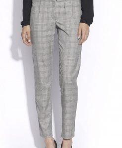 Pantaloni conici din stofa in carouri Cadrilat - Imbracaminte - Imbracaminte / Pantaloni