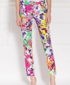 Pantaloni cu imprimeu floral Print - Imbracaminte - Imbracaminte / Pantaloni
