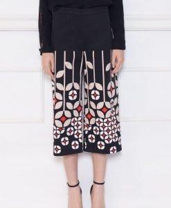 Pantaloni cullotes cu imprimeu Print - Imbracaminte - Imbracaminte / Pantaloni