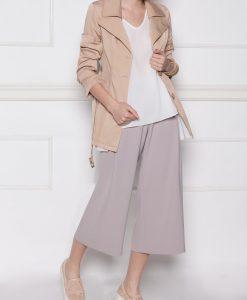 Pantaloni culotte cu croiala lejera Caffe - Imbracaminte - Imbracaminte / Pantaloni
