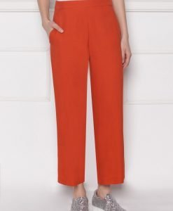 Pantaloni culottes din viscoza Rosu - Imbracaminte - Imbracaminte / Pantaloni
