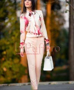 Pantaloni dama roz - PANTALONI COLANTI - PANTALONI COLANTI > Pantaloni