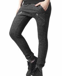 Pantaloni dama trening cu fermoare - Pantaloni trening - Urban Classics>Femei>Pantaloni trening