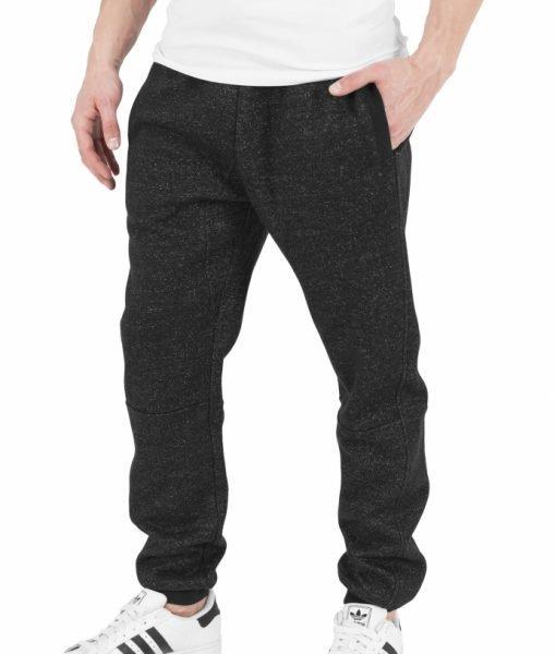 Pantaloni de trening melange – Pantaloni trening – Urban Classics>Barbati>Pantaloni trening