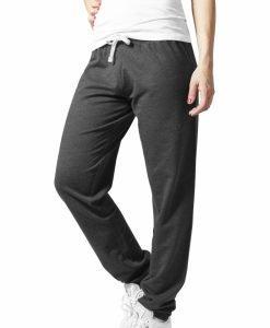 Pantaloni de trening stramti gri carbune Urban Classics - Pantaloni trening - Urban Classics>Femei>Pantaloni trening
