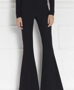 Pantaloni eleganti evazati Negru - Imbracaminte - Imbracaminte / Pantaloni