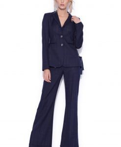 Pantaloni evazati Bleumarin - Imbracaminte - Imbracaminte / Pantaloni