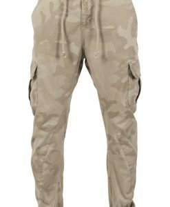 Pantaloni jogging Camo Cargo nisip-camuflaj Urban Classics - Pantaloni cargo - Urban Classics>Barbati>Pantaloni cargo