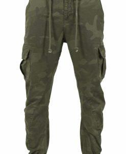 Pantaloni jogging Camo Cargo oliv-camuflaj Urban Classics - Pantaloni cargo - Urban Classics>Barbati>Pantaloni cargo
