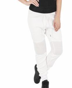 Pantaloni jogging scuba cu plasa la genunchi - Pantaloni trening - Urban Classics>Femei>Pantaloni trening