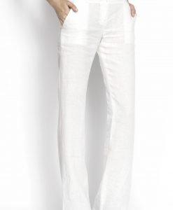 Pantaloni lungi clasici Crem - Imbracaminte - Imbracaminte / Pantaloni