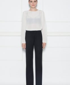 Pantaloni negri drepti Negru - Imbracaminte - Imbracaminte / Pantaloni