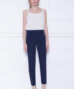 Pantaloni office pana Bleumarin - Imbracaminte - Imbracaminte / Pantaloni