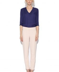 Pantaloni roz slim Roz - Imbracaminte - Imbracaminte / Pantaloni