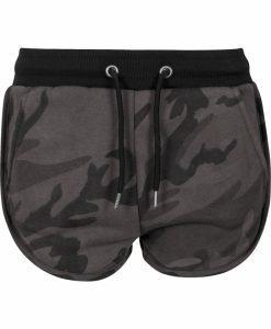 Pantaloni scurti Camo pentru Femei inchis-camuflaj Urban Classics - Pantaloni scurti - Urban Classics>Femei>Pantaloni scurti