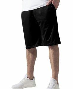 Pantaloni scurti baschet Mesh cu buzunare negru Urban Classics - Pantaloni hip hop - Urban Classics>Barbati>Pantaloni hip hop