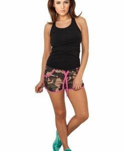 Pantaloni scurti camuflaj urban femei - Pantaloni scurti - Urban Classics>Femei>Pantaloni scurti