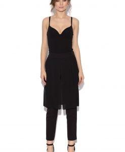 Pantaloni slim cu fusta Negru - Imbracaminte - Imbracaminte / Pantaloni